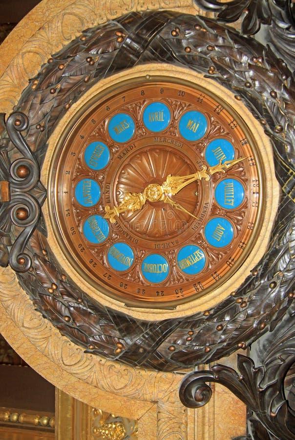 Osiąga wśrodku opera obywatela de Paryskiej Uroczystej opery lub Garnier pałac zdjęcia royalty free