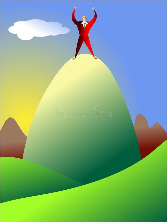 osiągnięcie na szczyt