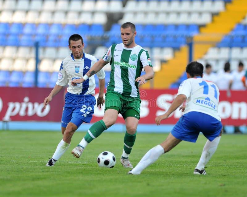 Osijek - Ferencvaros Soccer Game Editorial Photography