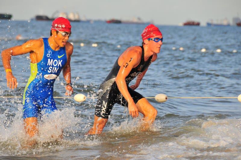 OSIM International Triathlon 2008 - 4 stock photography