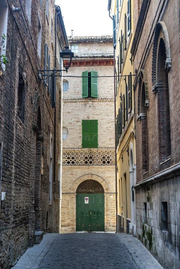 Download Osimo (Ancona) - Old Street Stock Image - Image: 29078017