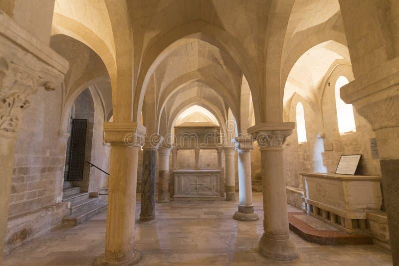 Osimo (Itália): catedral imagem de stock royalty free
