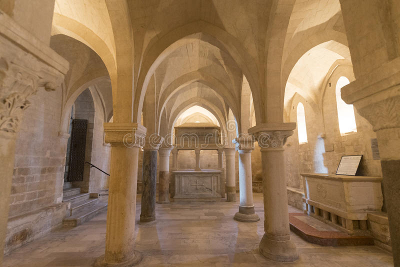 Osimo (Italy): cathedral royalty free stock image