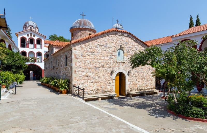 Osios David Monastery, Euboea, Greece royalty free stock image