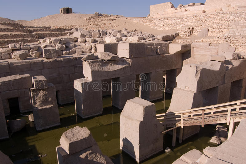 Download Osirion, Temple Of Abydos, Egypt Stock Photo - Image: 13461518