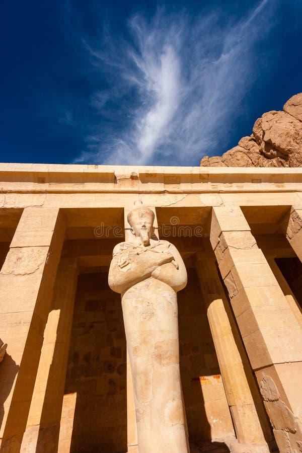 Osiris Statue at Hapshetpsut s Temple