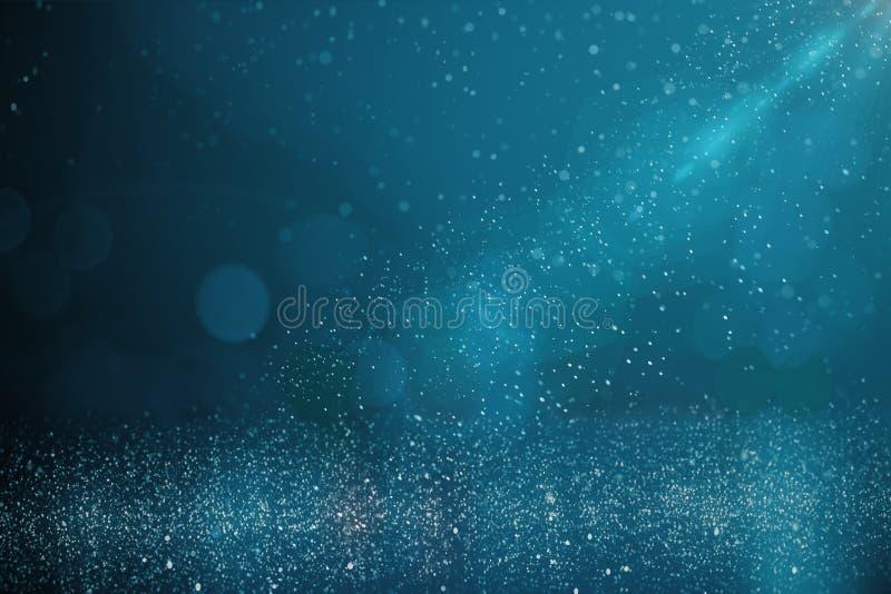 Oskarp blå bakgrund royaltyfri illustrationer