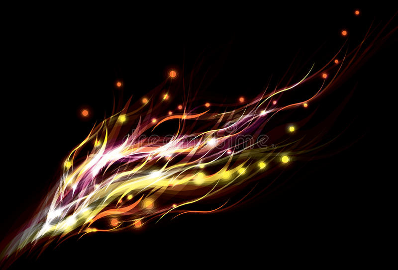 oskarp effektlampa för abstrakt bakgrund vektor illustrationer