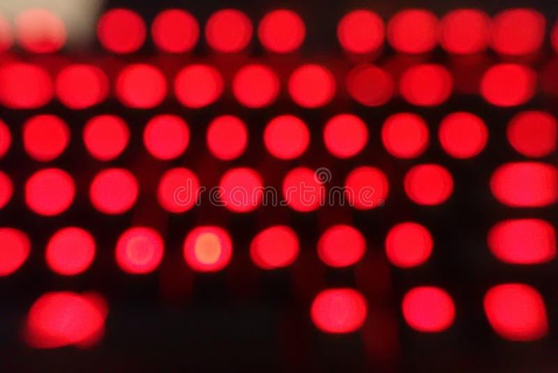 Oskarpa färgade ljus arkivfoton