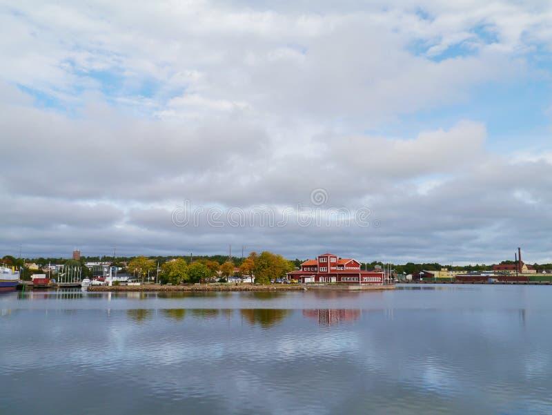 Oskarshamn een Zweedse stad royalty-vrije stock afbeelding