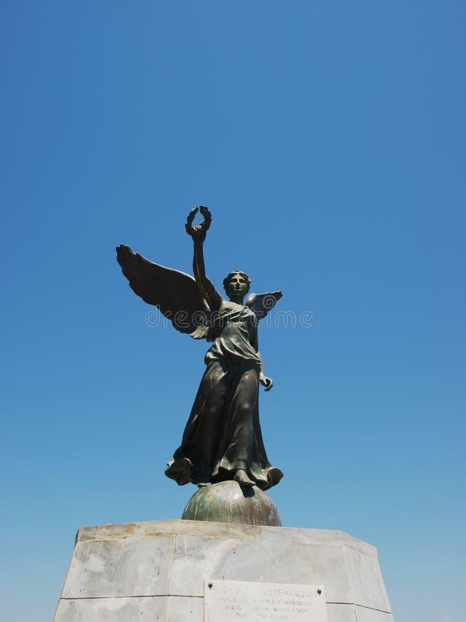 oskrzydlona nike statua fotografia stock