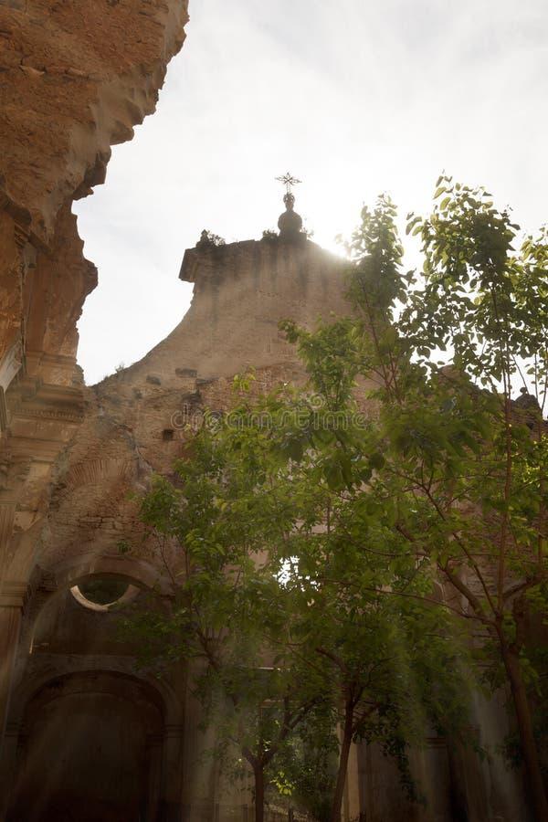 Oskuld av Gracia Convent royaltyfri fotografi