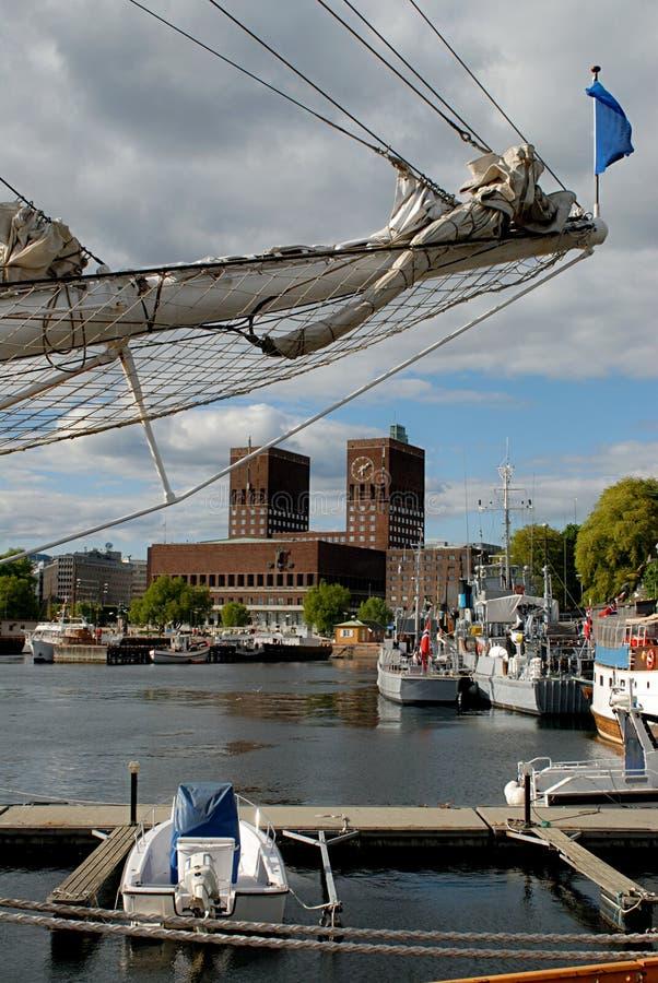 Oslo stock fotografie
