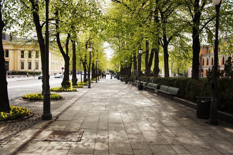 Oslo lizenzfreies stockfoto