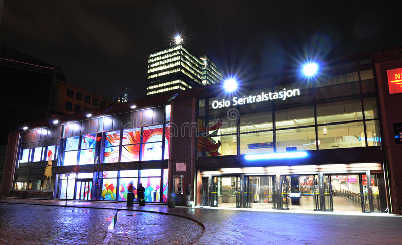 Download Oslo Central Station Editorial Stock Image - Image: 23191204