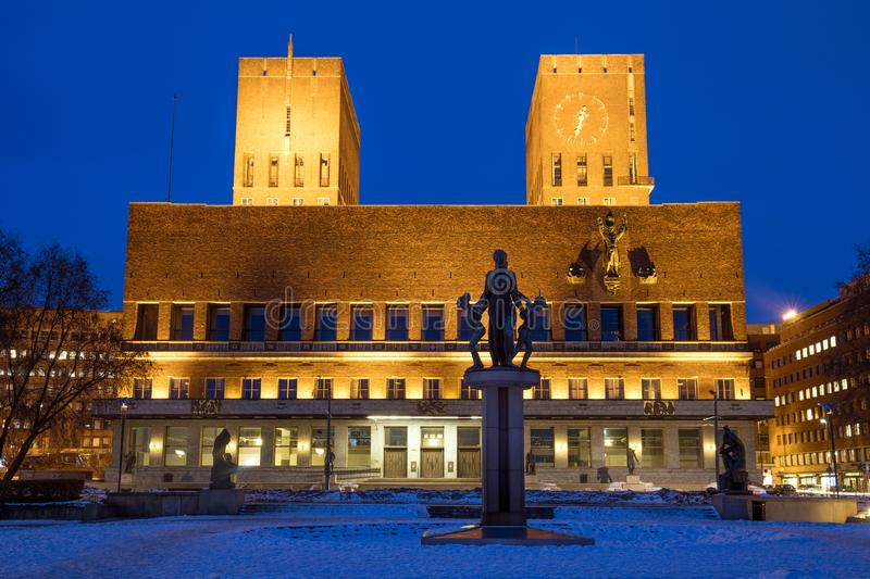 Oslo City Hall stock images