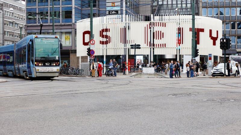 Oslo City royalty free stock photo
