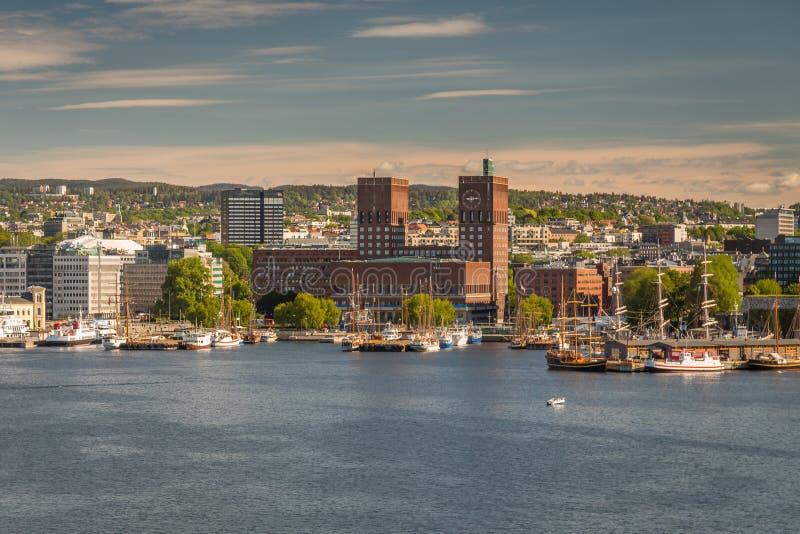 Oslo del centro immagini stock