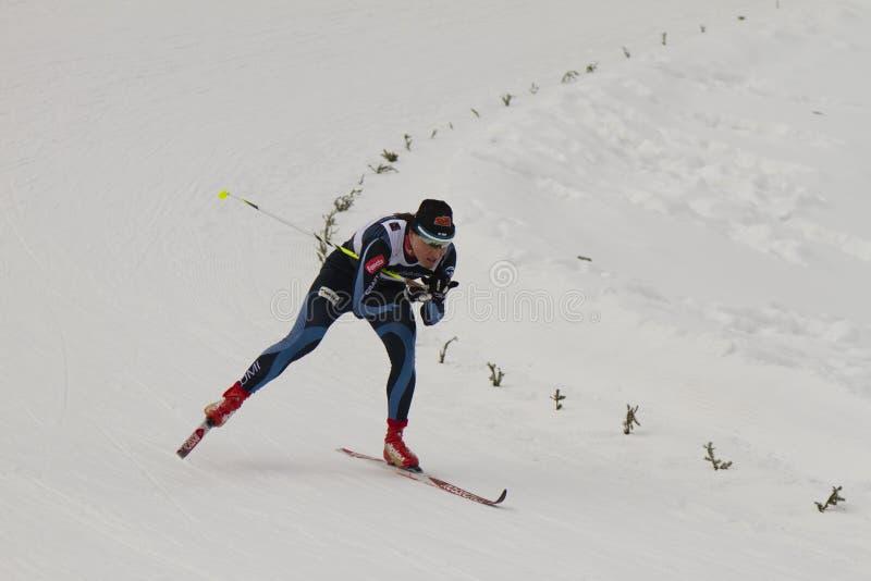 Oslo - FEB 24: FIS Nordic World Ski Championship, royalty free stock photos