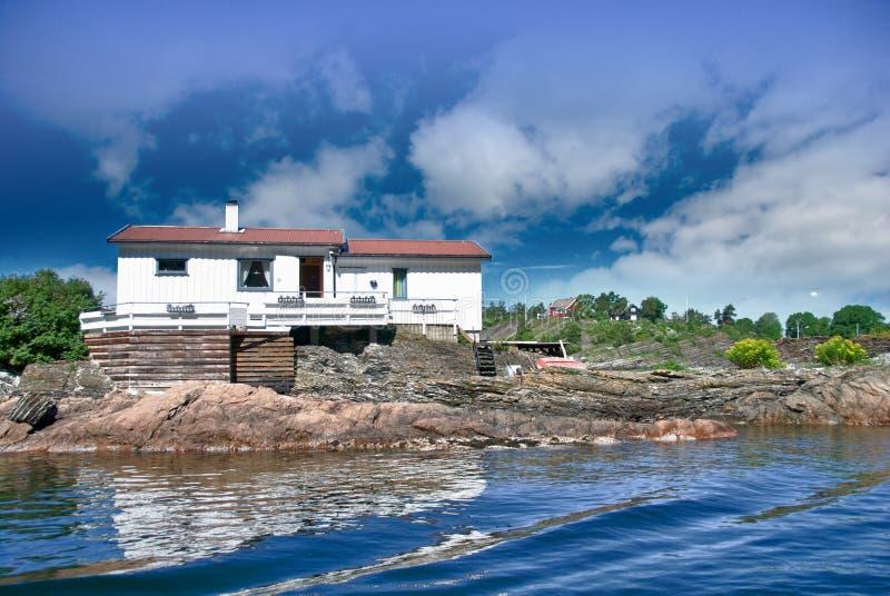 Oslo-Fjord lizenzfreie stockfotos