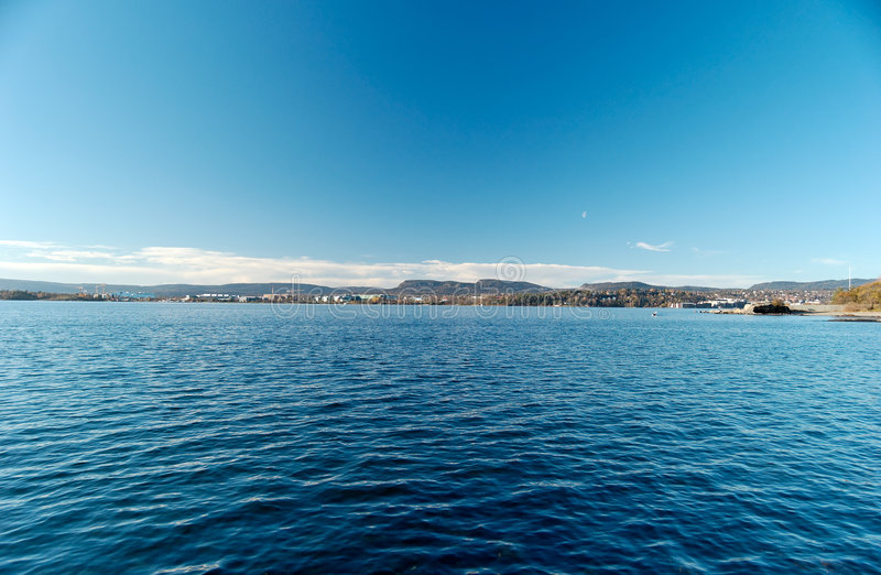 Oslo Fjord royalty free stock images