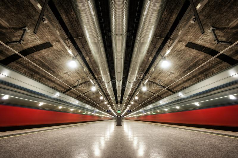 Oslo Metro Norway. Taken in 2017 stock photos
