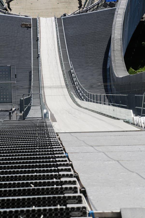 Oslo Narciarskiego skoku wierza obrazy stock