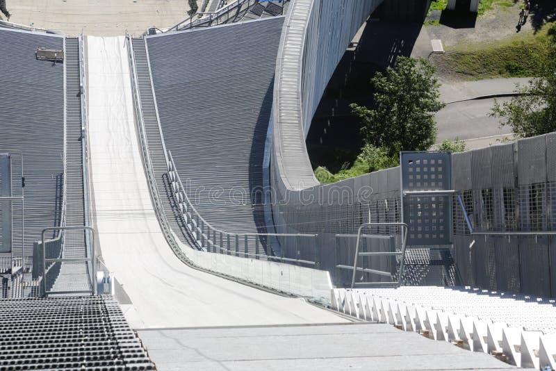 Oslo Narciarskiego skoku wierza obraz stock