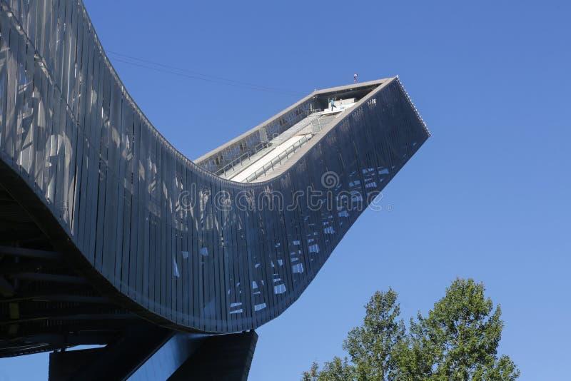 Oslo Narciarskiego skoku wierza zdjęcie stock