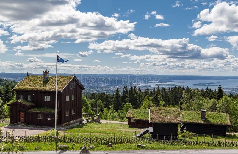 Oslo Noorwegen stock foto's