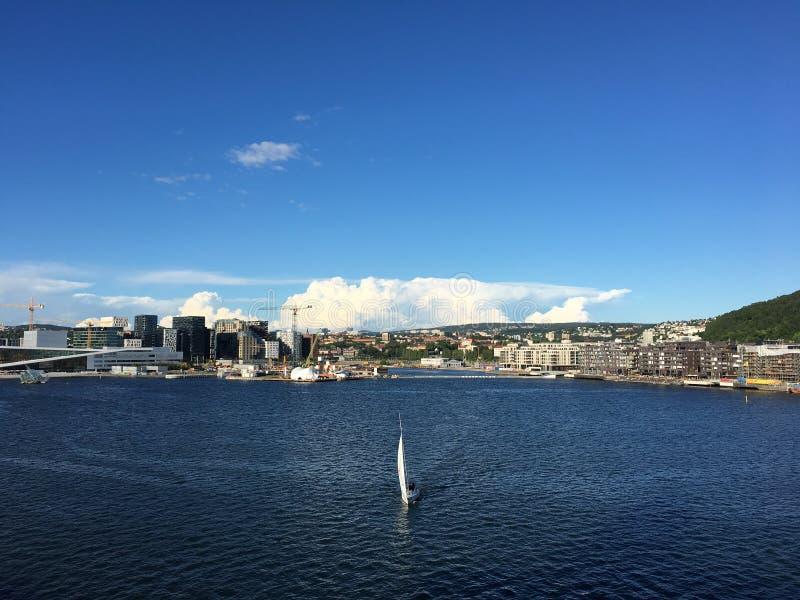 Oslo, Noorwegen stock foto