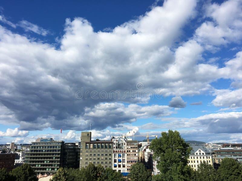 Oslo, Noorwegen royalty-vrije stock afbeelding