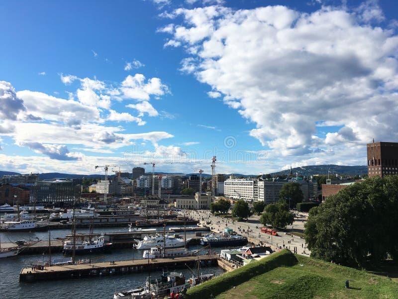 Oslo, Noorwegen stock foto's