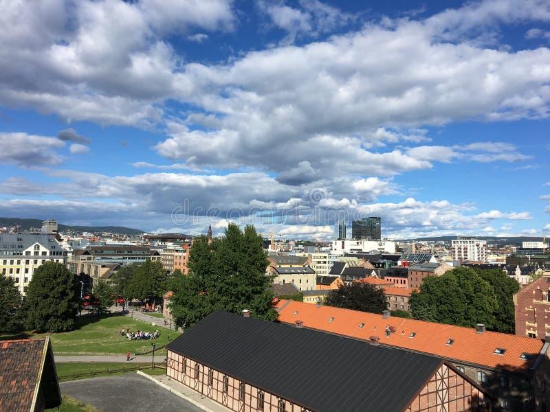 Oslo, Noorwegen royalty-vrije stock foto's