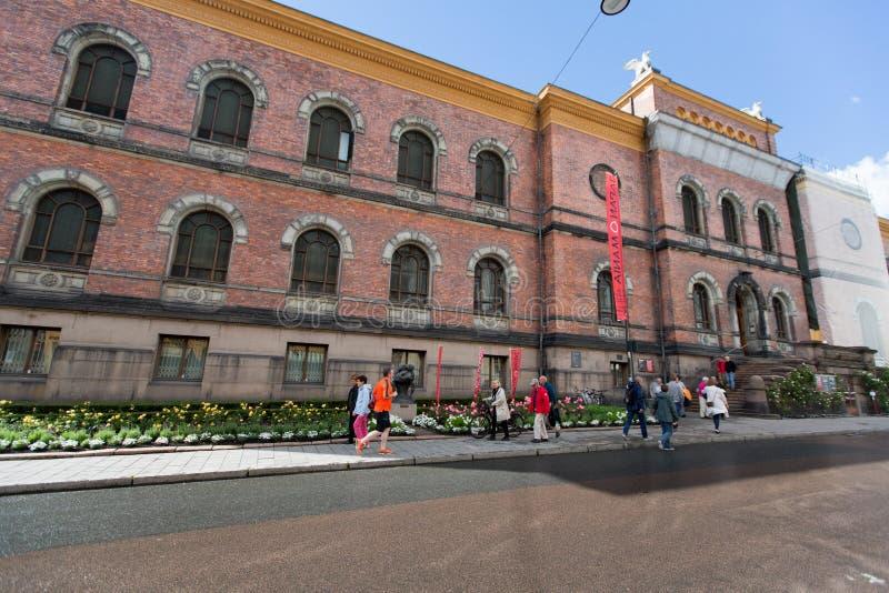 OSLO, NORVÈGE - 29 JUILLET 2016 : Le National Gallery est une galerie Depuis 2003 c'est administrativement une partie du Musée Na photo stock