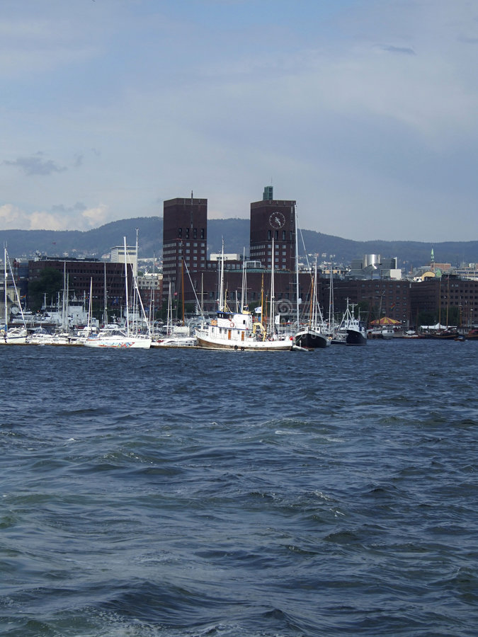 Oslo, Norvegia fotografie stock libere da diritti