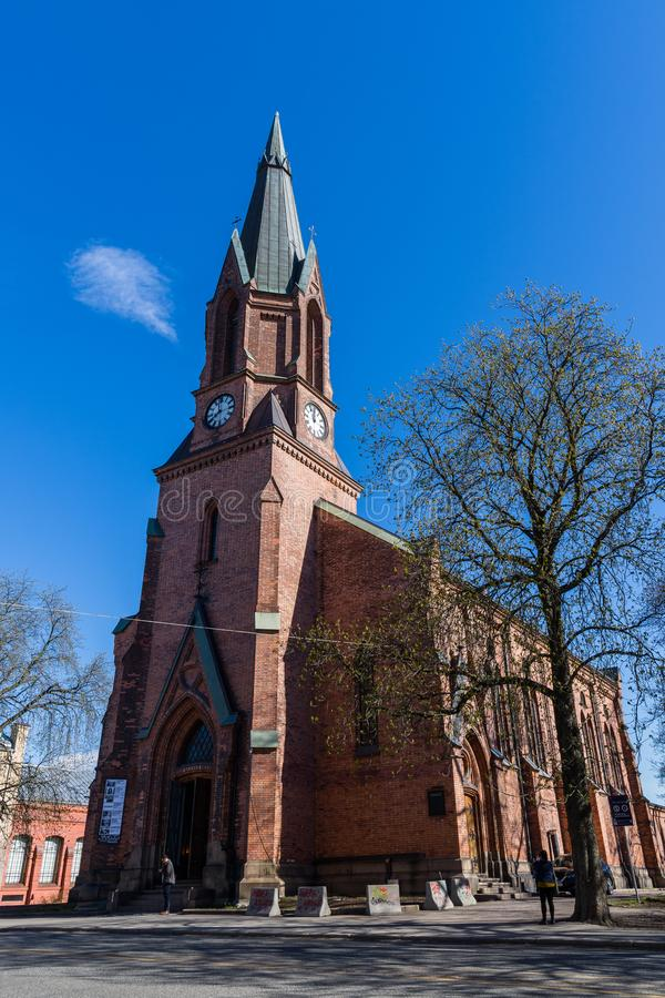 Kulturkirken Jakob in English St. James Church of Culture is a royalty free stock photography