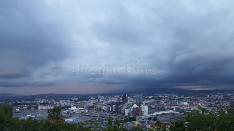 Oslo, Norwegen lizenzfreie stockfotos