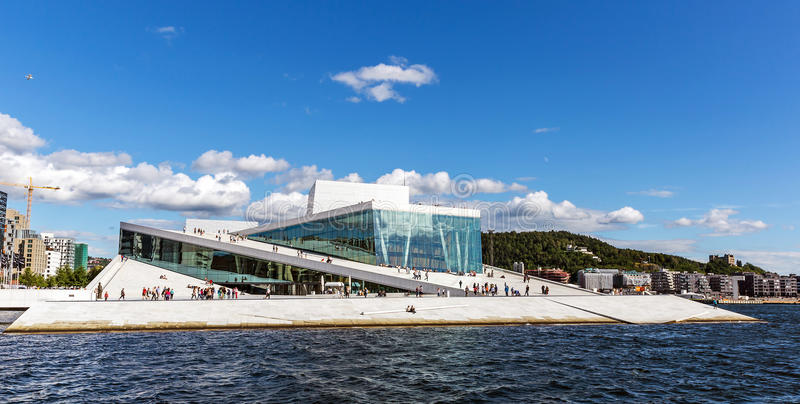Oslo opera obrazy stock