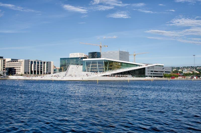 Oslo Opera House royalty free stock photo