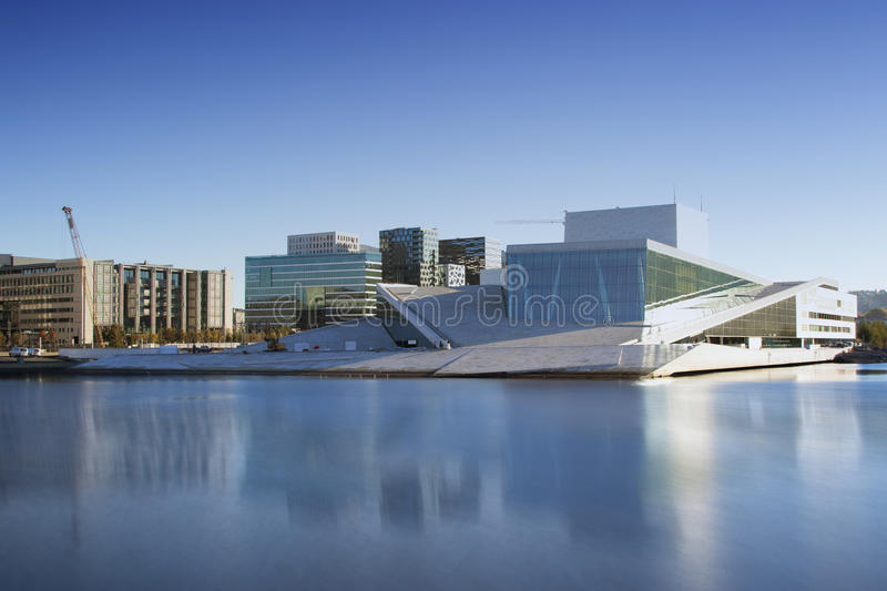 Oslo Opera House in Norway royalty free stock photo