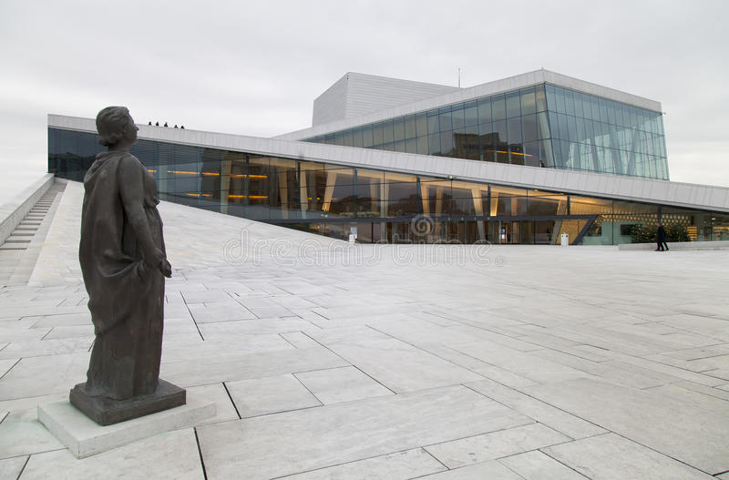 Download The Oslo Opera House In Norway Editorial Image   Image Of Modern,  Culture: