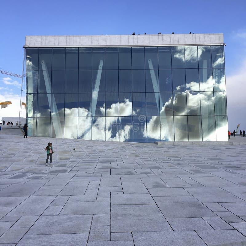 The Oslo Opera House - Norway stock image