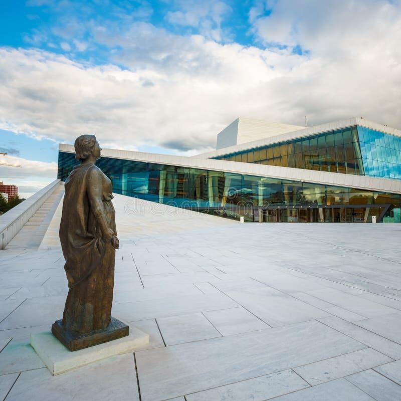 Oslo opera jest domem norweg obraz royalty free