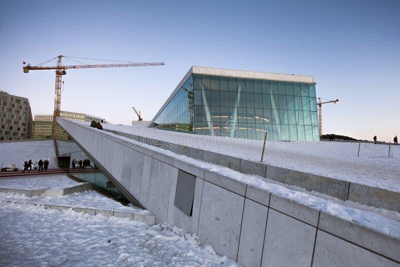Oslo opera obraz royalty free