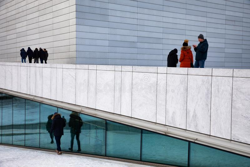 Oslo opera zdjęcia stock