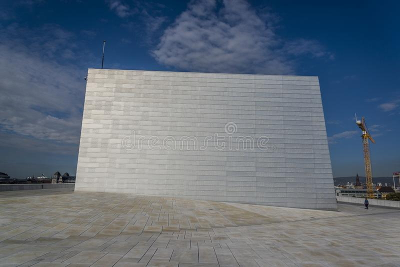 Oslo opera, Oslo, Norwegia zdjęcie stock