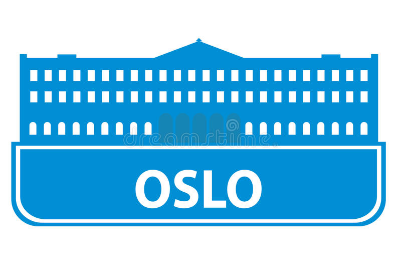 Download Oslo Outline Stock Image - Image: 14287611