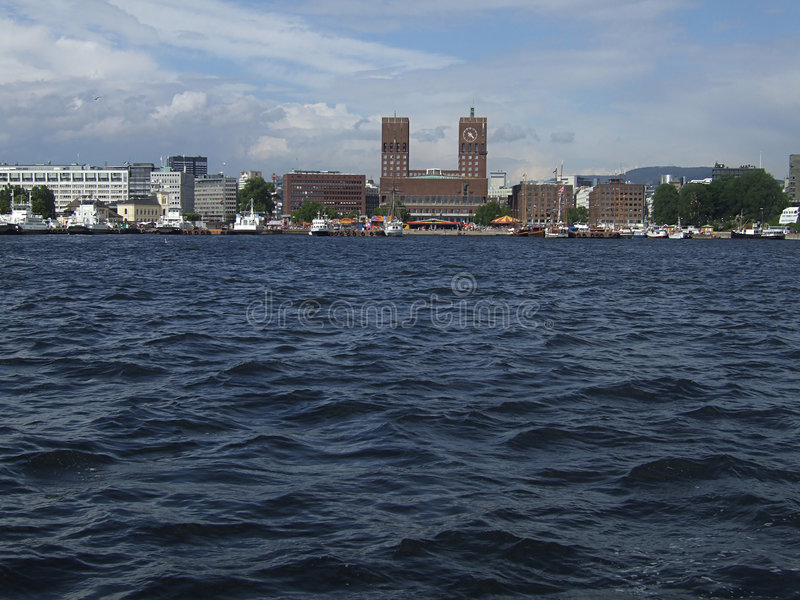Download Oslo waterfront stock image. Image of nautical, harbor - 2245709