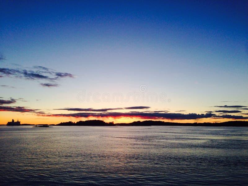 Oslofjord fotos de archivo